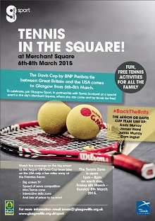 Tennis in the Square!