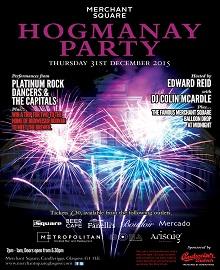 Hogmanay in Merchant Square