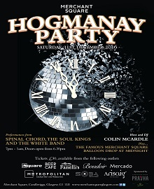 Tickets Now on Sale for Hogmanay!