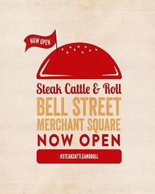 Steak Cattle & Roll Now Open!