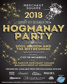 Tickets now on sale for our Hogmanay Party!