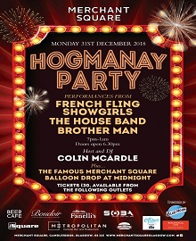 Tickets now on sale for our Hogmanay Bash!