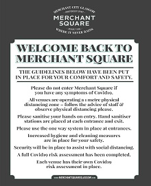 Merchant Square's Safety Measures in Place